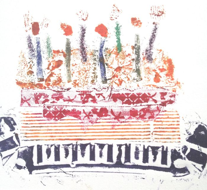 Birthday Collograph 2