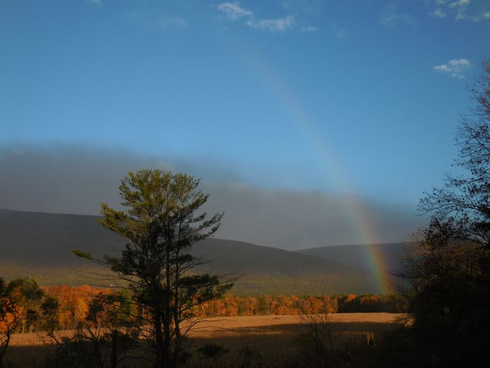 Morning Rainbow, Saugerties, Ulster County, NY