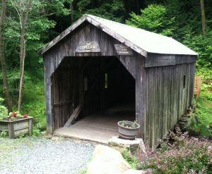 covered bridge front
