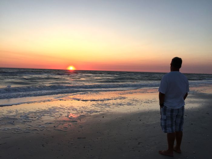 Sunset at Barefoot Beach